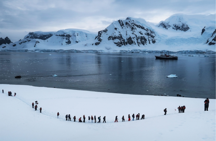 Scientists on the third Homeward Bound journey in Antarctica