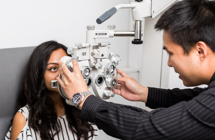 bachelor vision science optometry